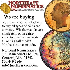 Northeast Numismatics Ad