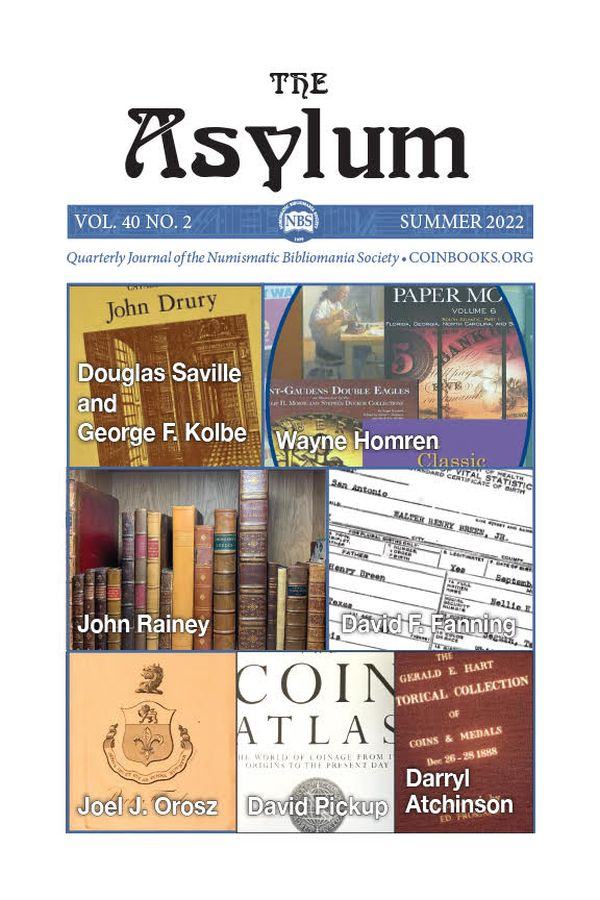 Cover of Current Issue of the Asylym