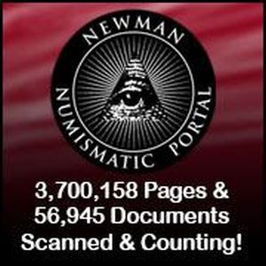 Newman Numismatic Portal Logo and active link
